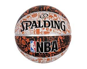 Spalding - Ballon de Basket d'extérieur Graffiti