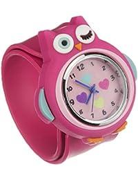 My Doodles DDOWLWT - Reloj de pulsera niña, silicona, color rosa