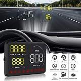 Auto Head-up Display A9 Monitor per Auto, HUD Sistema GPS Over Speed Warning proiettore Parabrezza Auto Tensione elettronico Allarme