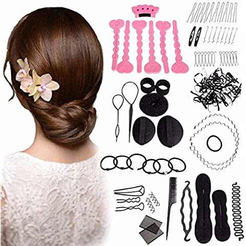 LuckyFine hair styling tool set - Lady riempitivo aiuto acconciatura,