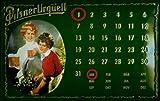 Blechschild Nostalgieschild Pilsner Urquell Bier Magnet Kalender