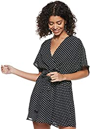 Only Womens Paige Polka Dot Overalls