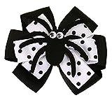 Y-BOA Pince Épingle à Cheveux Nœud Papillon Halloween Déguisement Clips Cheveux Fille Enfant Fillette Cravate Araignée 10*8cm