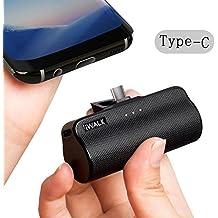 iWALK 3300mAh Batería Externa Portátil Compacto Incorporado USB Type C Power Bank Cargador para Samsung Galaxy Note8 S8 Huawei Sony LG Lumia