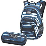DAKINE 2er SET Rucksack Schulrucksack Laptoprucksack 25l CAMPUS SM + SCHOOL CASE Mäppchen Resin Stripe