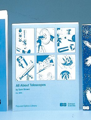 All About Telescopes (Popular Optics Library). Edmund Scientific (ES). [Paperback] by Sam Brown
