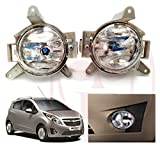 #9: RedClub presents clear colour Fog light for Chevrolet Beat with FREE pair of Blind Spot Mirrors and complementary RedClub Pen