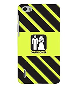 PRINTVISA Wedding Funny Case Cover for Huawei Honor 6