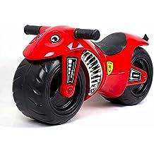 deAO Moto Corre Pasillos sin Pedales - Mejora el Equilibrio – Apropiado para Desarrollo Físico a Edades Tempranas *Color ROJO*