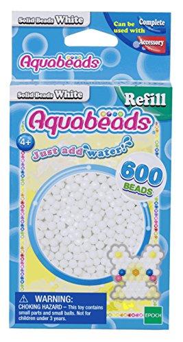 Aquabeads 32638 Perlen weiß