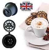 zeuspod nachfüllbar wiederverwendbar Kaffee Kapseln Pods für Nespresso–5Kaffee Pods–(passend für alle Nespresso Maschinen aus nach Oktober 2010)