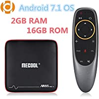 MECOOL M8S PRO W Android 7.1 OS Amlogic S905W DDR3 2G eMMC 16G WiFi 2.4G Ethernet With Voice Control