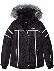 ICEPEAK Niños chaqueta Hope Jr, otoño/invierno, infantil, color negro, tamaño 164