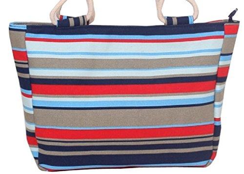 getthatbagc-donne-grande-tela-beach-brillante-tote-shopper-handbag-bold-blu-giallo-rosa-rosso-viola-
