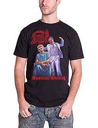 Death Spiritual Healing Official Mens New Black T Shirt