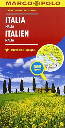 Italia 1:800.000 (Carte stradali Marco Polo)