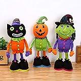 Qjdecoy Halloween-Puppen - Hexe-Plüsch-Puppen, Feiertags-Partei-Versorgungsmaterialien, Geschenke...