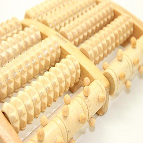 willdo Wooden Dual Madera masajeador de pies, pie...