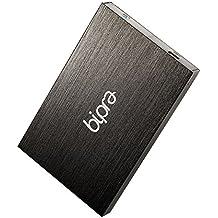 Bipra 2,5-Zoll-USB 2.0 FAT32 Tragbare externe Festplatte - Schwarz (100GB)