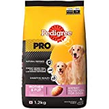Pedigree PRO Expert Nutrition Lactating/Pregnant Mother and Pup (3-12 Weeks) Dry Dog Food, 1.2kg Pack