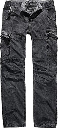 Brandit Rocky Star Pants Hose Charcoal XL - Cargo-hose Baumwolle-charcoal