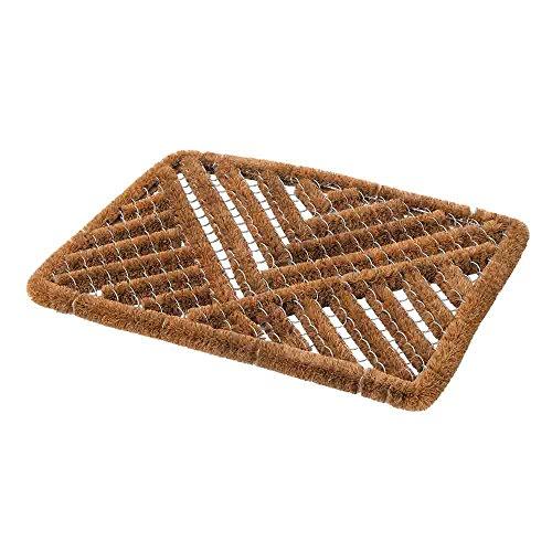 Fixman Draht-Fußmatte, 1 Stück, braun, 775954