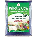 Casa De Amor Organic Wholly Cow Manure and Compost (2 kg, Brown)