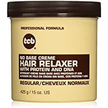 TCB No Base Creme Hair Relaxer, Regular, 15 Ounce by Tcb