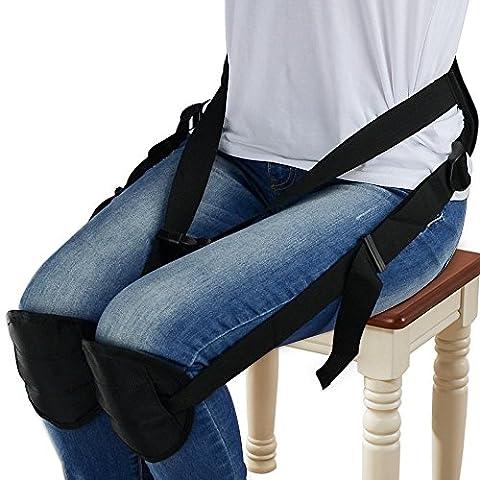 Security Rückseiten-Stützgurt, justierbarer Taillen-Schutz für rückseitige Schmerz, bewegliche rückseitige Stützgurt-Auflage für besseres Sitzen