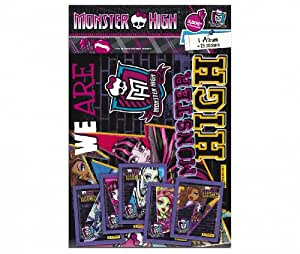 1 Album + 25 Stickers We Are Monster High