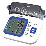 Misuratore di Pressione da Braccio Professionale,Sfigmomanometro Digitale con USB Ricaricabile Misurazione Automatic di Pressione Arteriosa e Battito Cardiaco,2 x 99 Misurazioni Memoria