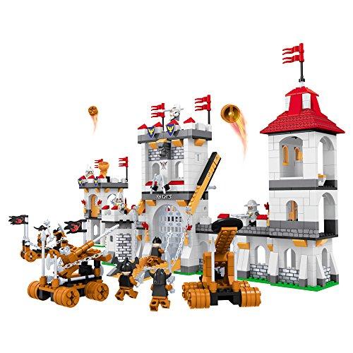 Ausini - Castillo Medieval con accesorios juego de construcción (ColorBaby 42860)