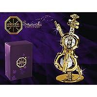 GERMANY CRYSTAL TEMPTATIONS - Violino d'oro con cristalli Swarovski