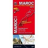 Maroc 2012 - Carte routière et touristique