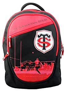 Sac à dos TOULOUSE - Collection officielle STADE TOULOUSAIN - Rugby - 3 compartiments - Top 14