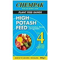 chempak Alta Potasio Alimentar Fertilizante Fórmula no.4 800 gramos CAJA