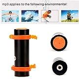 Andoer Wasserdicht MP3 beim Sport Schwimmen 4GB MP3 WMA Player mit FM Radio, Displayanzeige, Kopfhörer