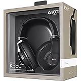 AKG - K550MKII - Casque Audio Mini Pliable - Commande du Volume et Micro Intégrés pour Appareils iOS/Android  – Noir