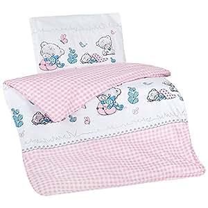 aminata mignon de kids parure de lit enfant housse de couette enfant 100 x 135 cm coton fille. Black Bedroom Furniture Sets. Home Design Ideas