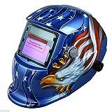 SAILUN Solar Automatik Schweißschild Maske Schweißhelm Schweißschirm Gesichtsmaske Farbe Adler (Modell 4)
