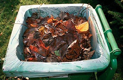 120/140 Liter Einlegesack für die Biotonne- 10 Stück kompostierbar nach EN 13432 (Beutel Kompostierbare)
