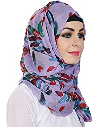 Momin libas Polyester Multicolor with Printed Hijab and Scarf