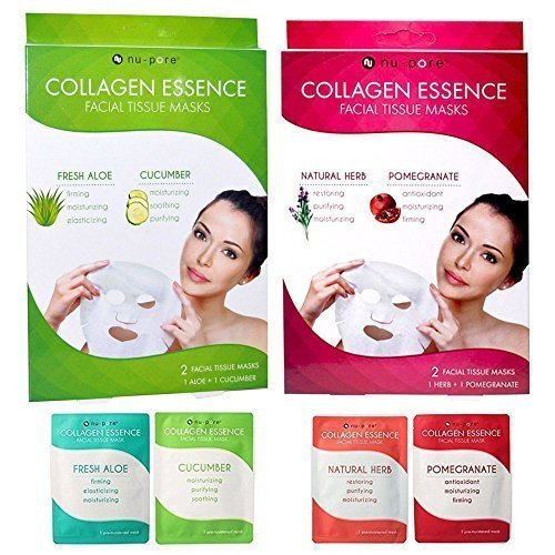 4-pc-collagen-facial-masks-sheets-anti-aging-moisture-skin-care-nu-pore-by-alltopbargains