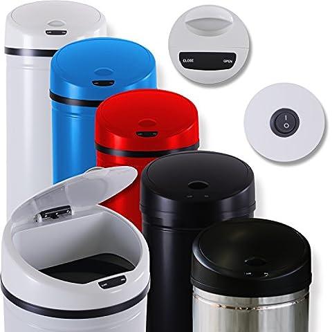 Kesser® Sensor Mülleimer ✓ Automatik ✓ Abfalleimer ✓ Abfall | EDELSTAHL | Farbe: Blau | Größe: 50