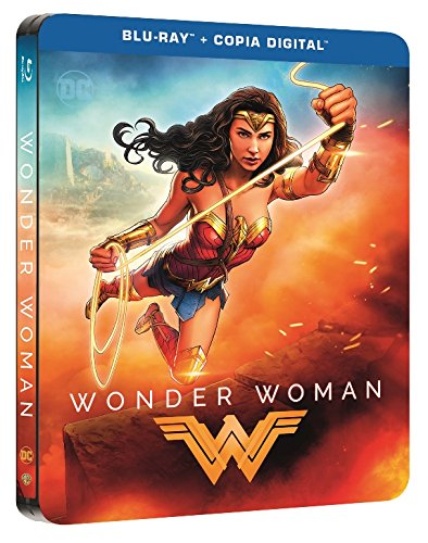 Wonder Woman Blu-Ray Dc Illustrated Steelbook [Blu-ray]