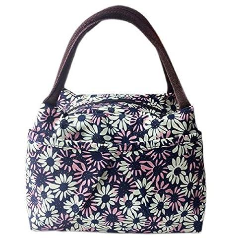 Vovotrade 2016 New Variety Motif Lunch Bag Lunchbox Femmes sac de pique-nique Bag Lunch Box, 28x15x20cm / 11.02x5.9x7.87 pouces