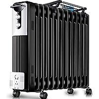DW&HX Radiador de Aceite, Silencioso Portátil Radiador de Aceite Electrico Protección contra el sobrecalentamiento Radiador