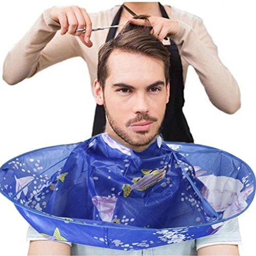 DRESS_start Haarpflege & Styling Saloneinrichtung Friseurtaschen Regenschirm Kap Salon-Friseur Salon Und Home DIY Haare schneiden Mantel Bunt