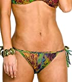 Kiniki - Amalfi Bronzage Intégral Bikini Tanga - Pour Femme - Multicolore - Taille : 36-38