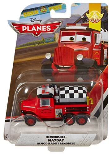 Disney Planes: Fire and Rescue Restored Mayday Diecast Vehicle by Mattel (And Rescue Planes Fire Mayday)